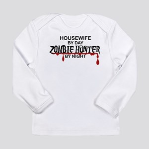 Zombie Hunter - Housewife Long Sleeve Infant T-Shi