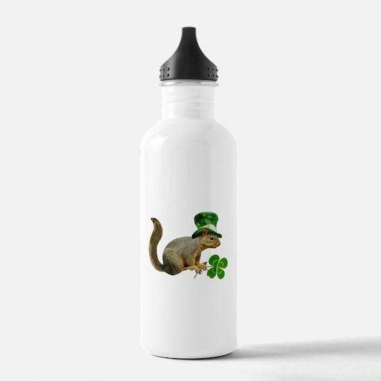 Leprechaun Squirrel Water Bottle