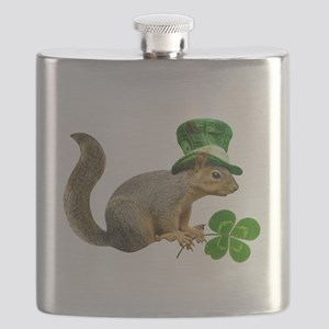 Leprechaun Squirrel Flask