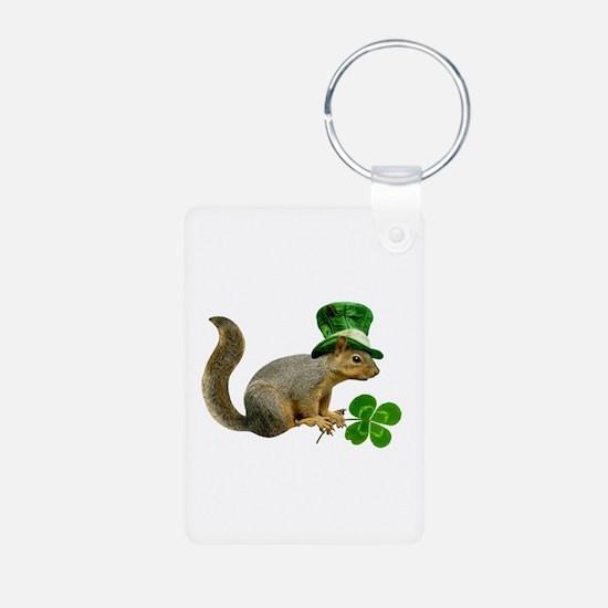 Leprechaun Squirrel Keychains
