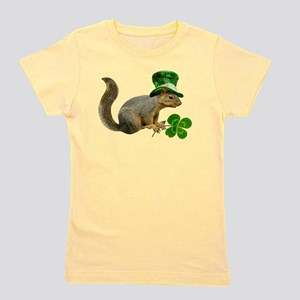 Leprechaun Squirrel Girl's Tee
