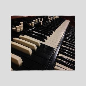 1955 Hammond B3 Throw Blanket