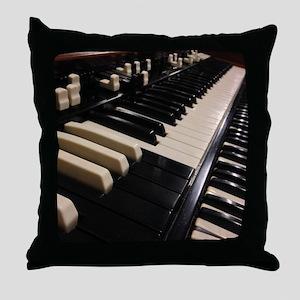 1955 Hammond B3 Throw Pillow