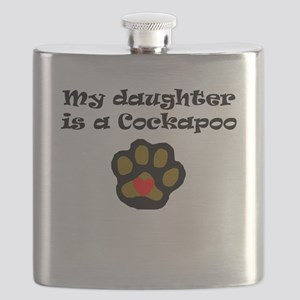 My Daughter Is A Cockapoo Flask