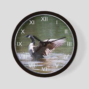 Canada Goose Winged Spirit Wall Clock