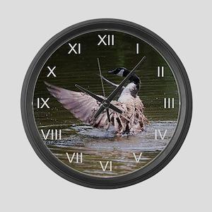 Canada Goose Magician Large Wall Clock