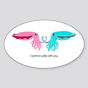 Cuttle with You Sticker