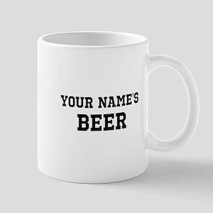 Customizable Your Name Beer Mugs