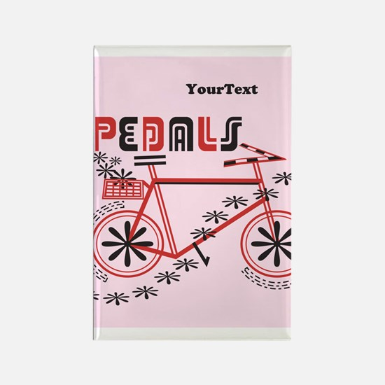 Customize Pedals Cyclist Rectangle Magnet