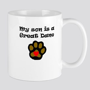 My Son Is A Great Dane Mugs