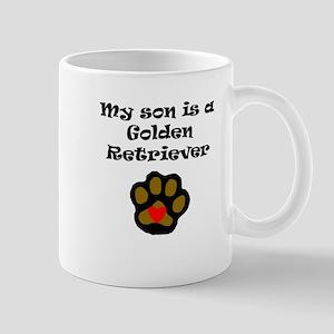 My Son Is A Golden Retriever Mugs