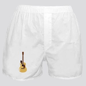 Acoustic Guitar and Bird Boxer Shorts