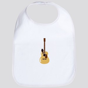 Acoustic Guitar and Bird Bib