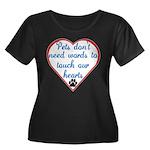 Touch Your Heart v4 Women's Plus Size Scoop Neck D
