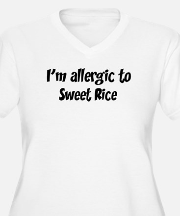 Allergic to Sweet Rice T-Shirt