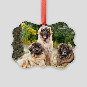 leonberger Picture Ornament