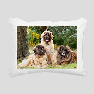 leonberger Rectangular Canvas Pillow