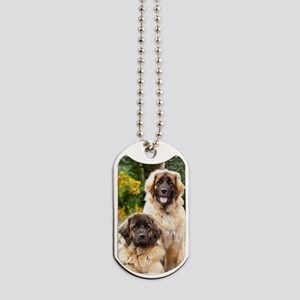 Leonbergers Dogs Dog Tags