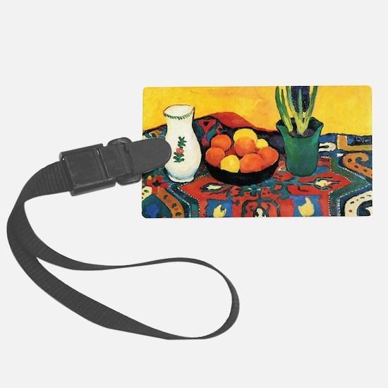 August Macke - Still Life, Hyaci Luggage Tag