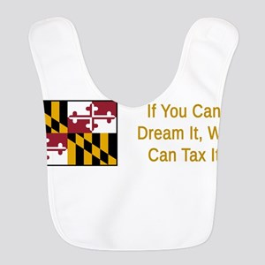 Maryland Humor #2 Polyester Baby Bib
