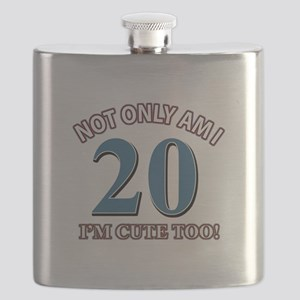 Cute 20 year old designs Flask