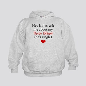 Ask Me About My Uncle (Your Name) Hoodie