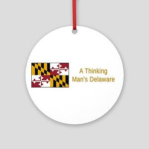 Maryland Humor #1 Round Ornament