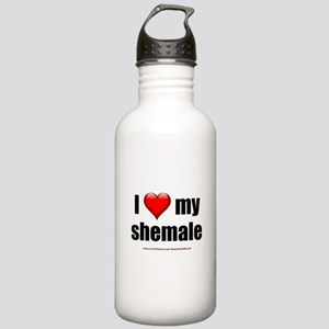 I Love My Shemale lightapparel Stainless Water
