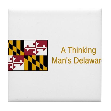 Maryland Humor #1 Tile Coaster