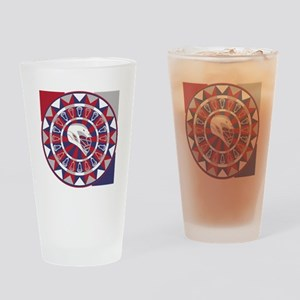 Lacrosse Shakey Dartboard Drinking Glass