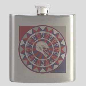 Lacrosse Shakey Dartboard Flask