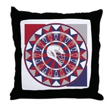 Lacrosse Shakey Dartboard Throw Pillow