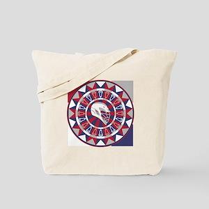 Lacrosse Shakey Dartboard Tote Bag