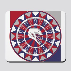 Lacrosse Shakey Dartboard Mousepad