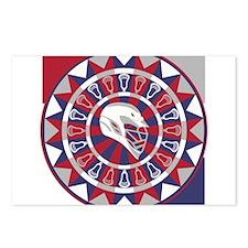 Lacrosse Shakey Dartboard Postcards (Package of 8)