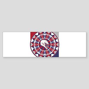 Lacrosse Shakey Dartboard Sticker (Bumper)