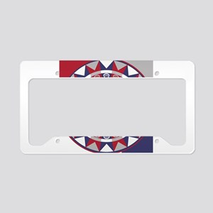 Lacrosse Shakey Dartboard License Plate Holder