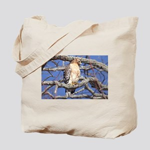 Red Tailed Hawk Laptop and Household Tote Bag