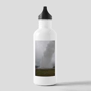 Old Faithful Yellowstone National Park Water Bottl