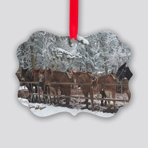 Stables at the Grand Canyon Picture Ornament