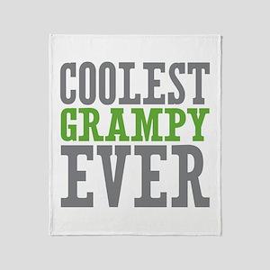 Coolest Grampy Ever Throw Blanket