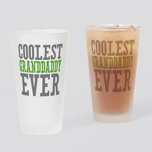 Coolest Granddaddy Ever Drinking Glass