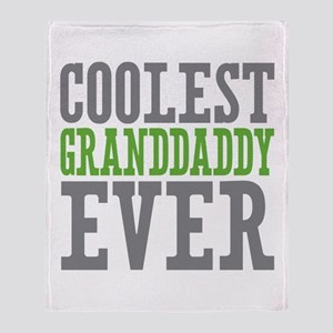Coolest Granddaddy Ever Throw Blanket