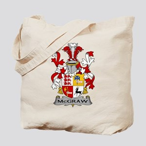 McGraw Family Crest Tote Bag