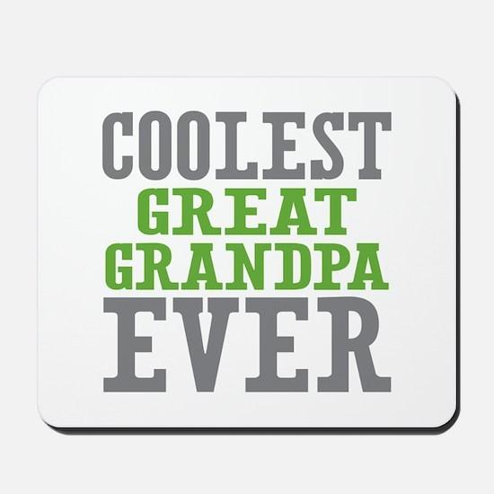 Coolest Great Grandpa Ever Mousepad