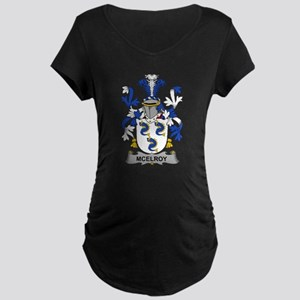 McElroy Family Crest Maternity T-Shirt
