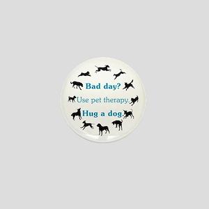Pet Therapy Mini Button