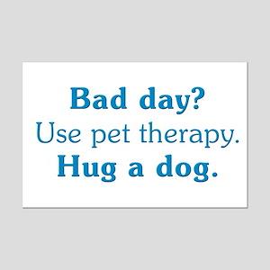Pet Therapy Mini Poster Print