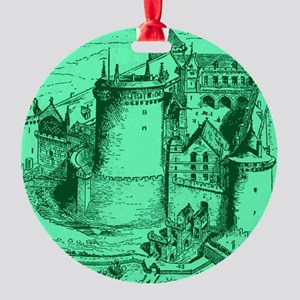 castles of thepast Round Ornament