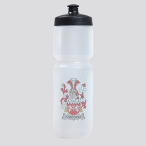 Corcoran Family Crest Sports Bottle